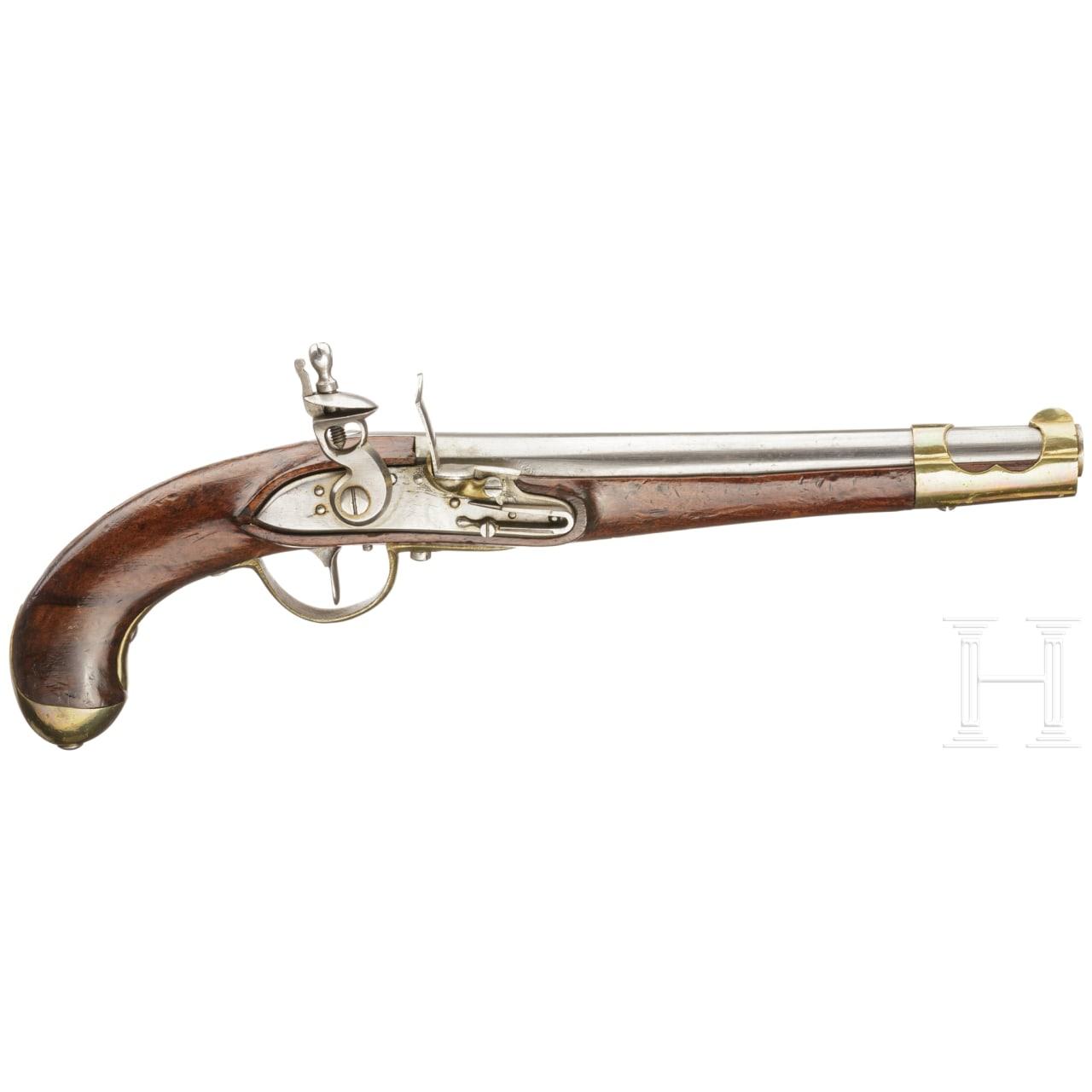 An M 1798 cavalry pistol