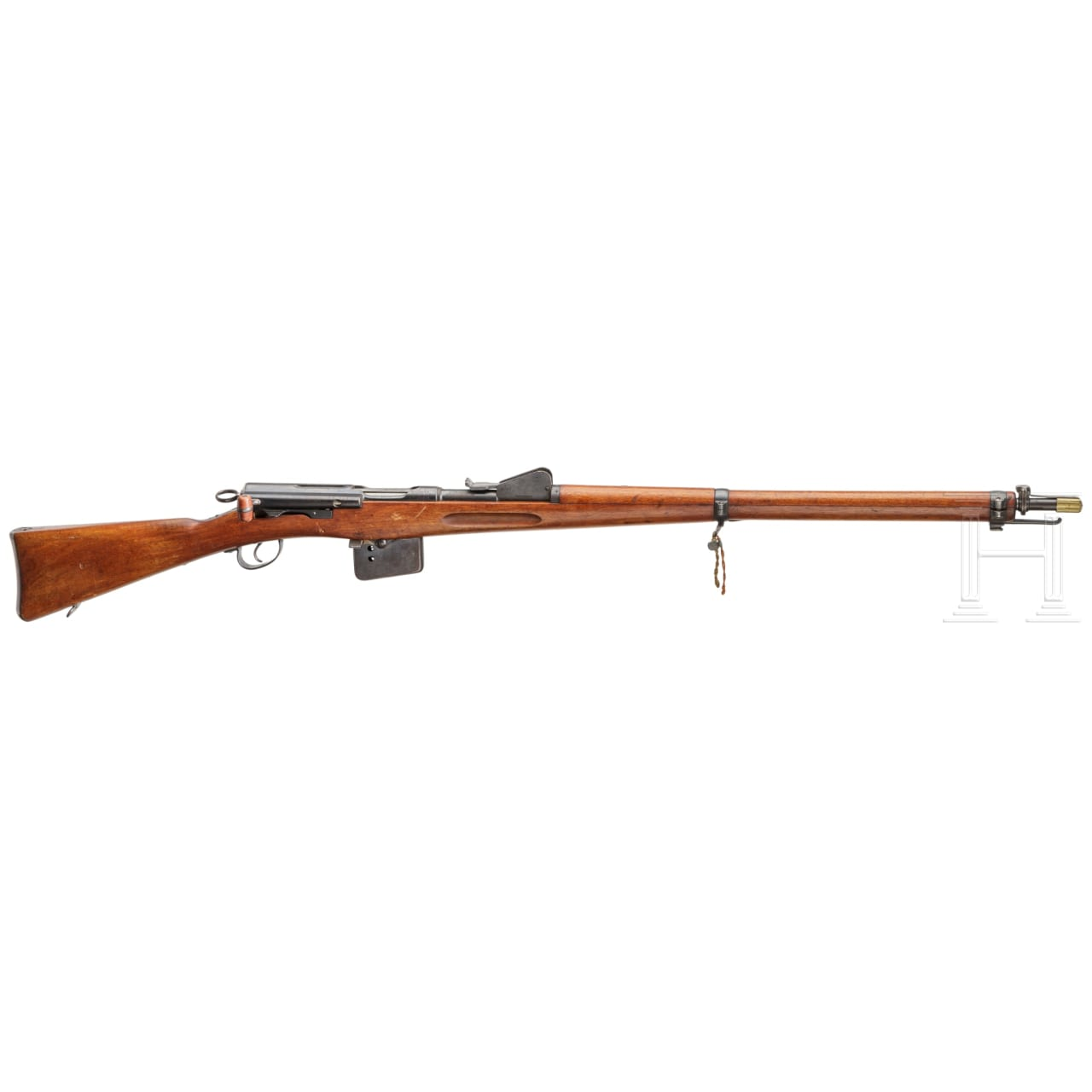A Swiss M 1889 rifle