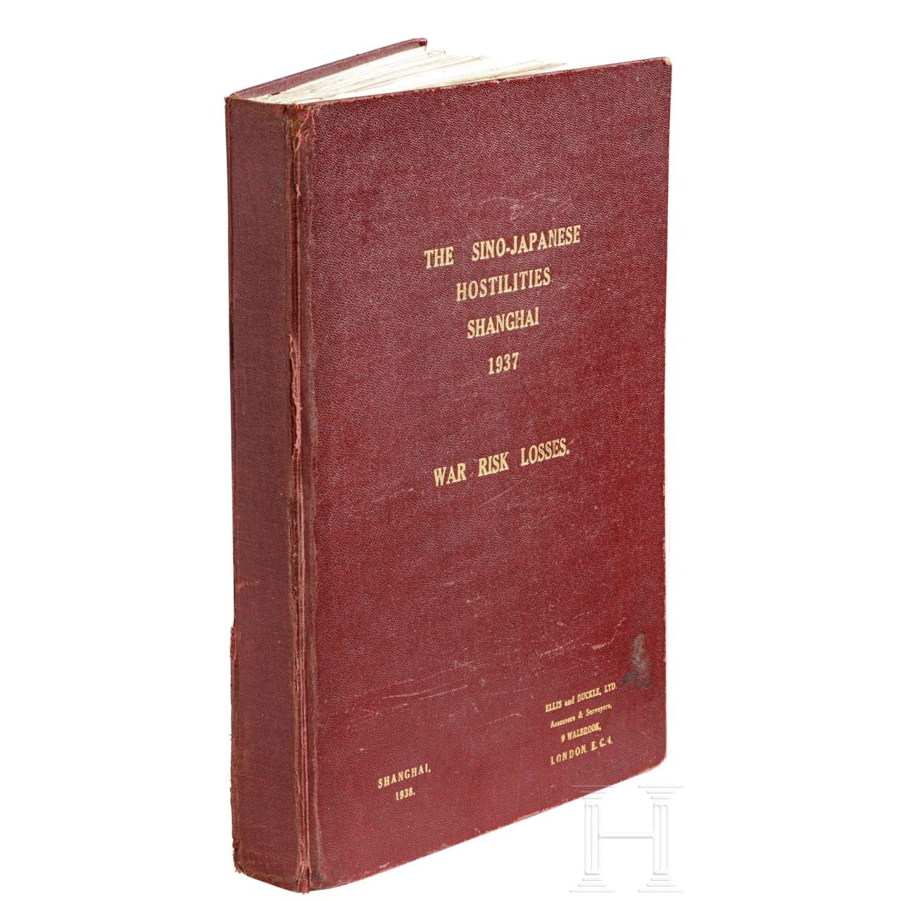 The Sino-Japanese Hostilities, Shanghai 1937: a report on war losses by ELLIS & BUCKLE Assesors & Surveyors 淞沪会战 战争损失评估报告