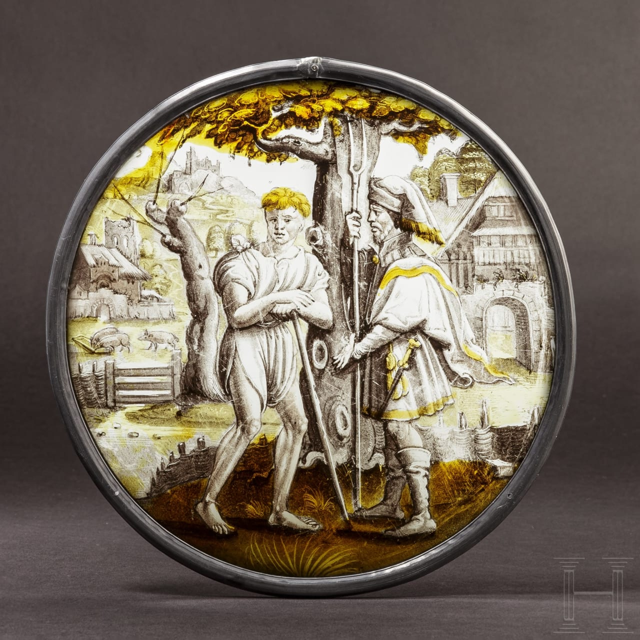 """A Dutch rondel on """"The Prodigal Son looks for work"""", circa 1540/50"""