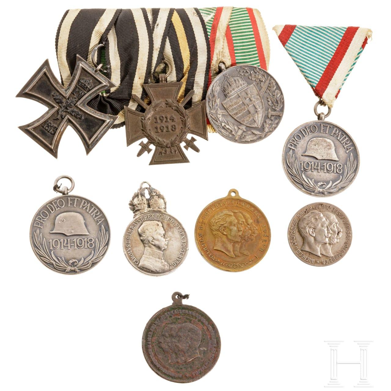 Gruppe Auszeichnungen, Österreich-Ungarn, 1914 - 1918