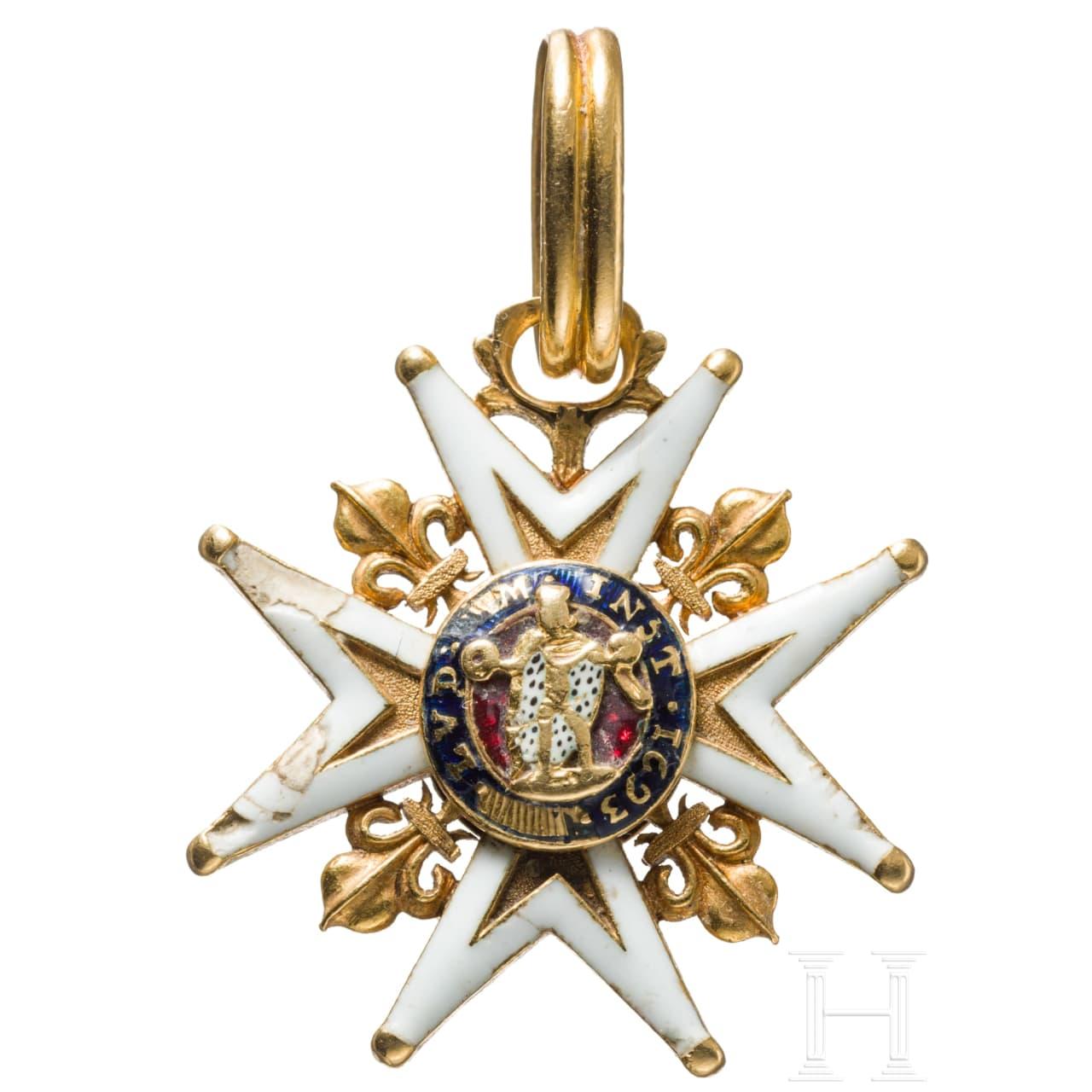 Ordre Royal et Militaire de Saint Louis - Kgl. und militärischer Orden vom Hl. Ludwig, Frankreich, um 1780