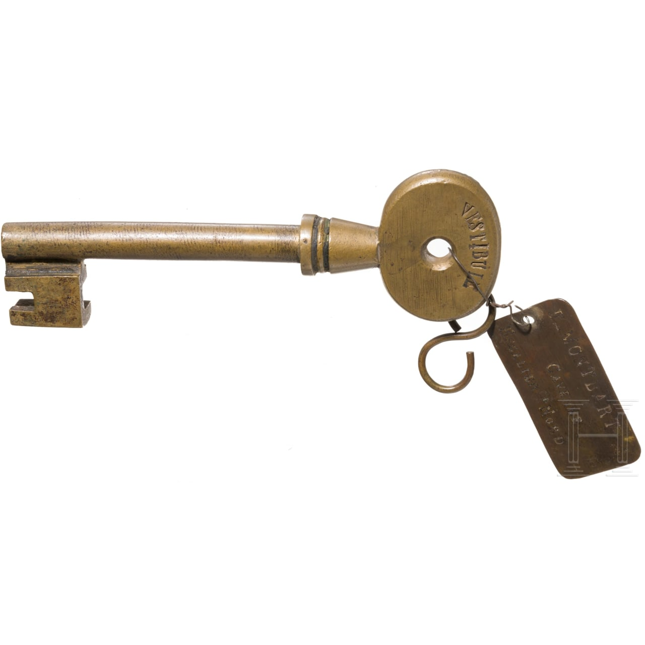 A French key to the powder magazine of Fort du Mont-Bart, 19th century