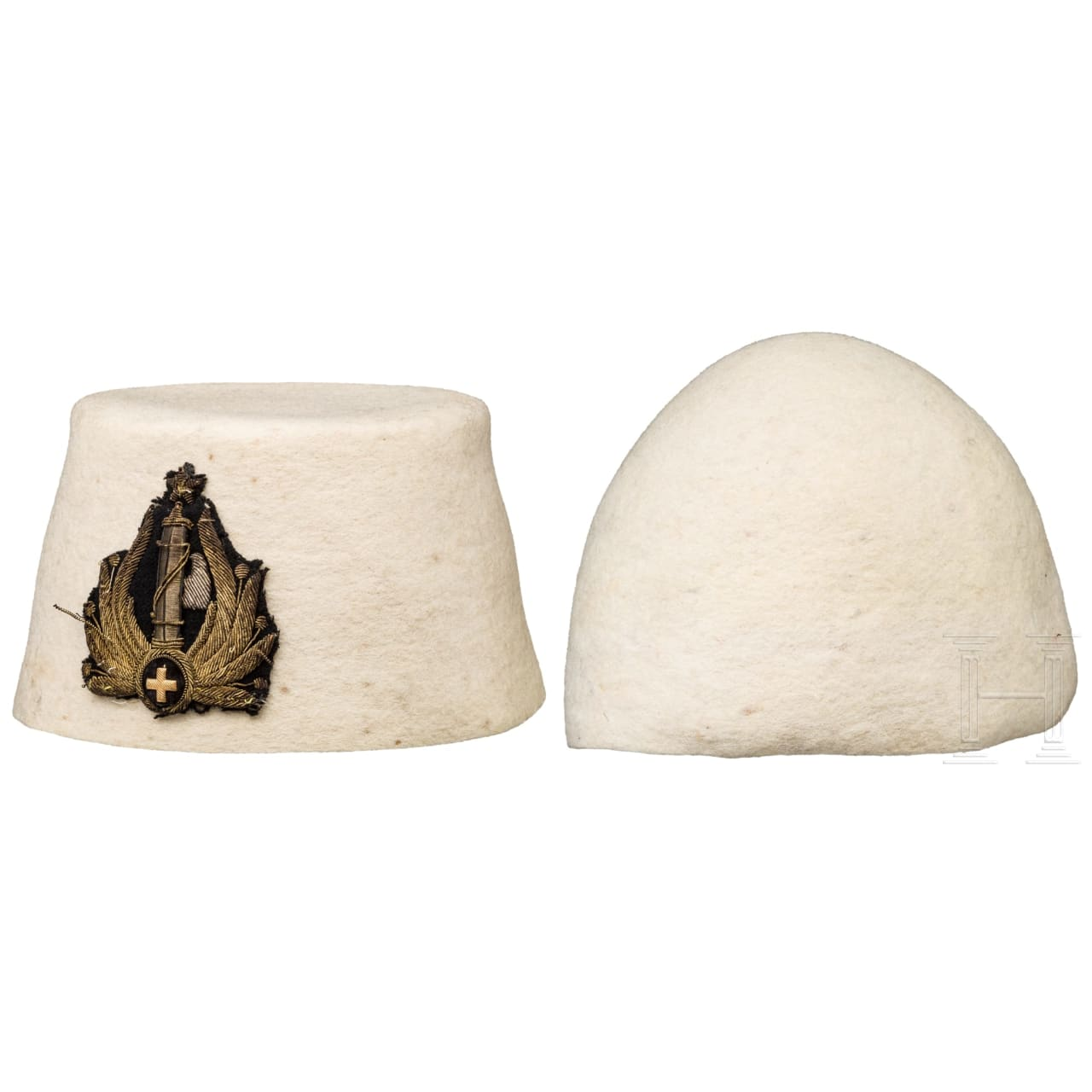 A fez of the Albanian MVSN