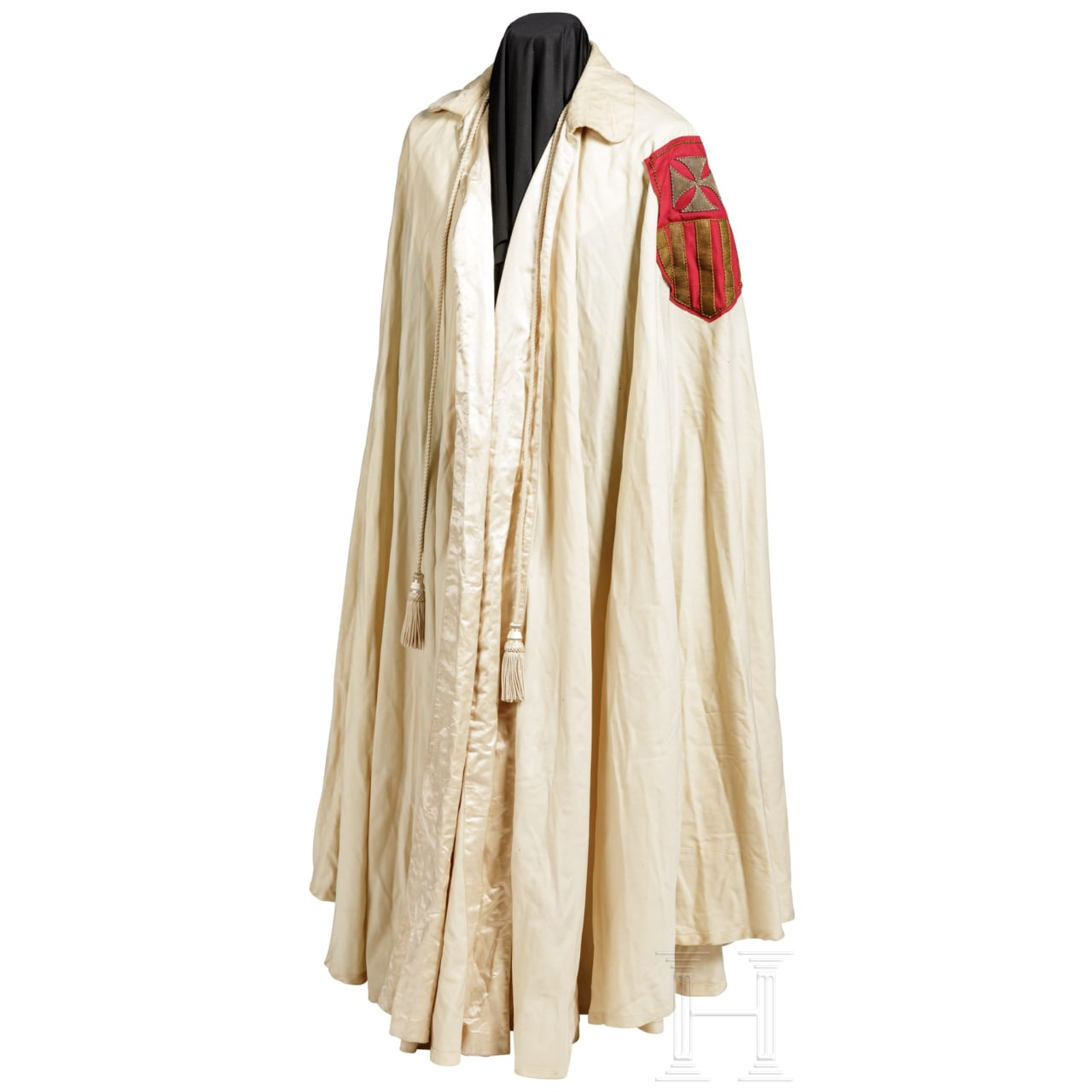 A Vatican cloak of an order of knights, 20th century