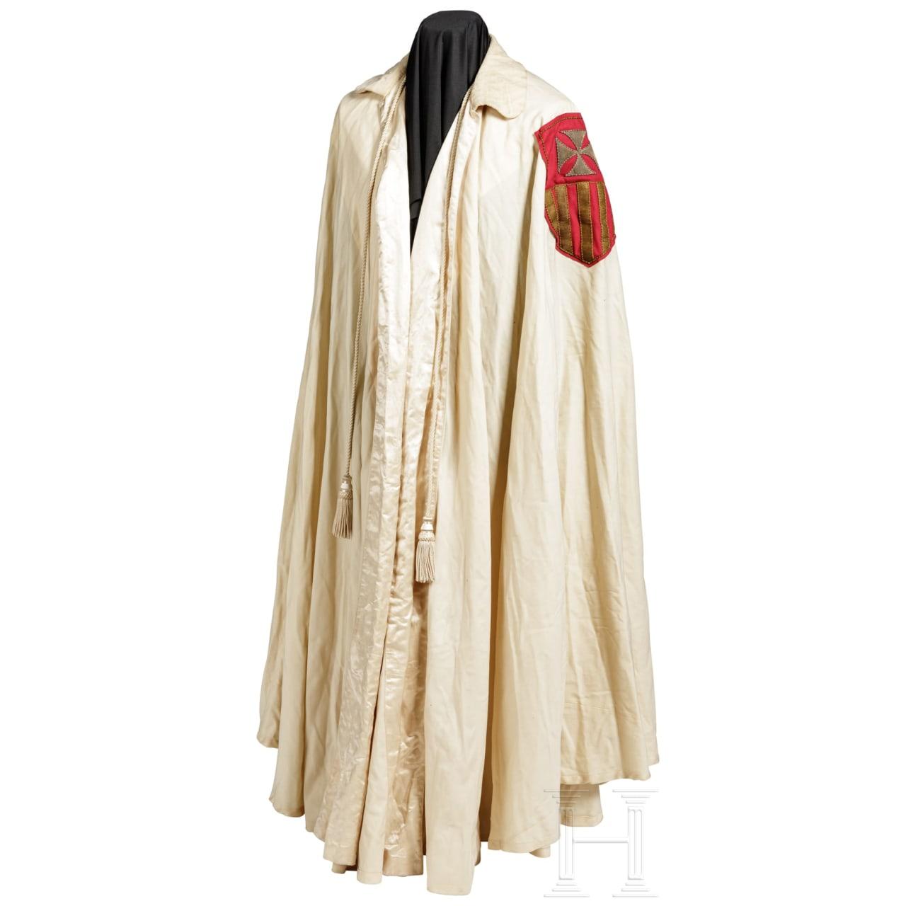 Umhang eines Ritterordens, Vatikan, 20. Jhdt.