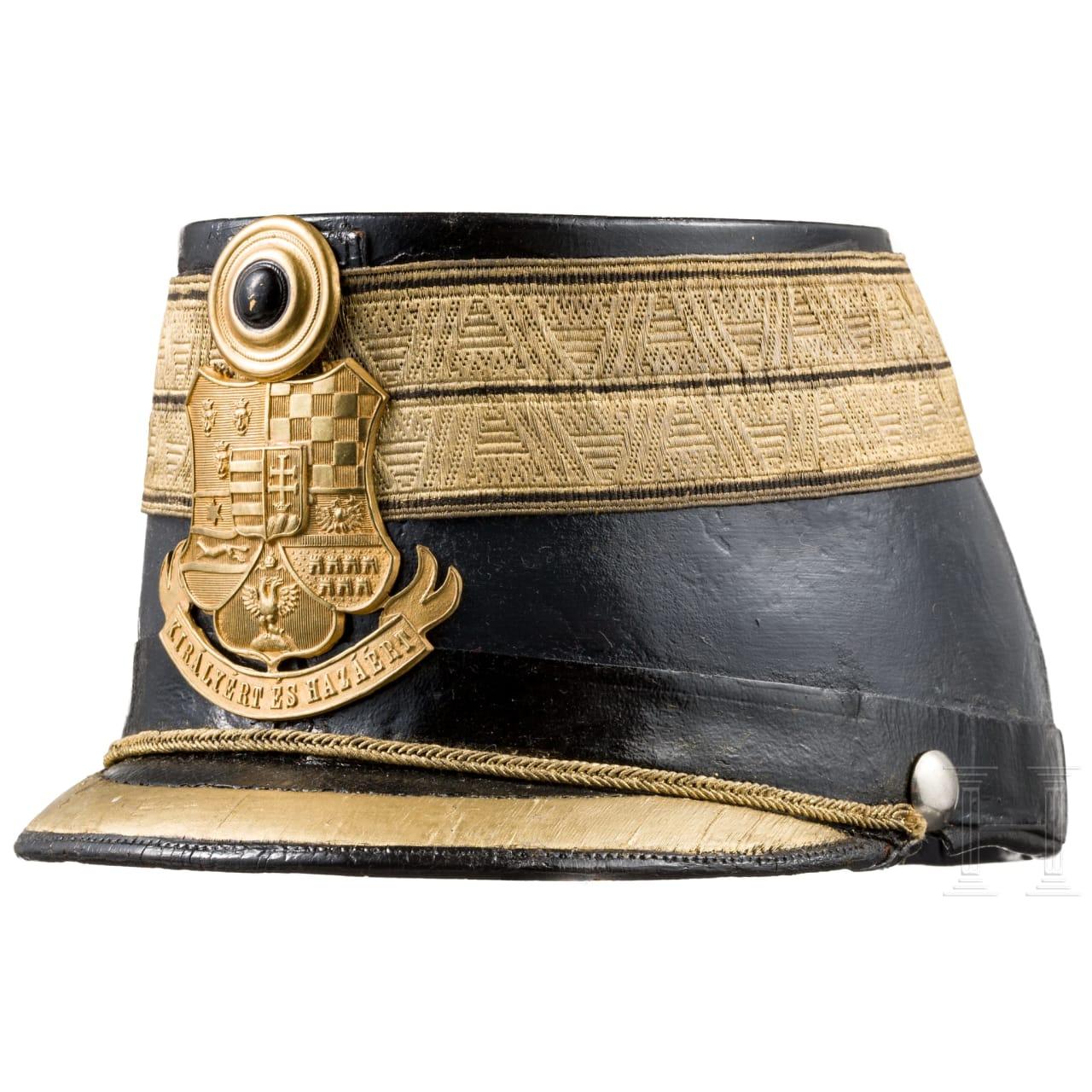 Ungarn - Tschako für einen Hauptmann der Honvéd-Infanterie, nach 1918