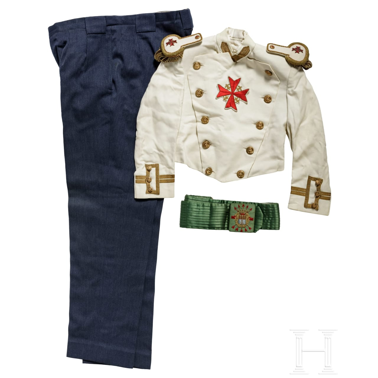 Faschistisches Spanien - drei Uniformteile