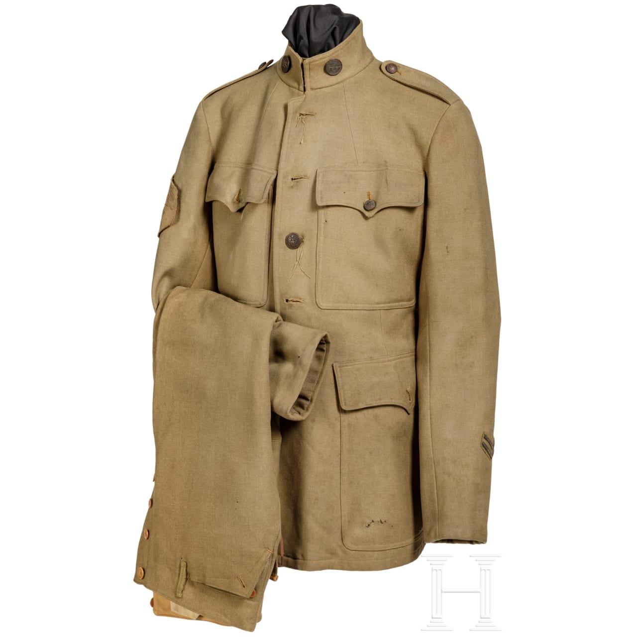 USA - Uniform für einen Corporal des Quartermaster Corps im 1. Weltkrieg