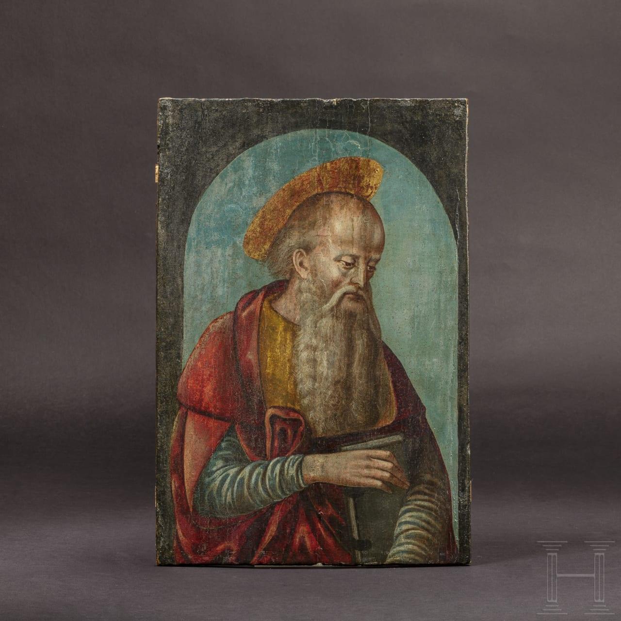 """An Italian portrait of St Anthony of Padua, 1st half of the 15th century """