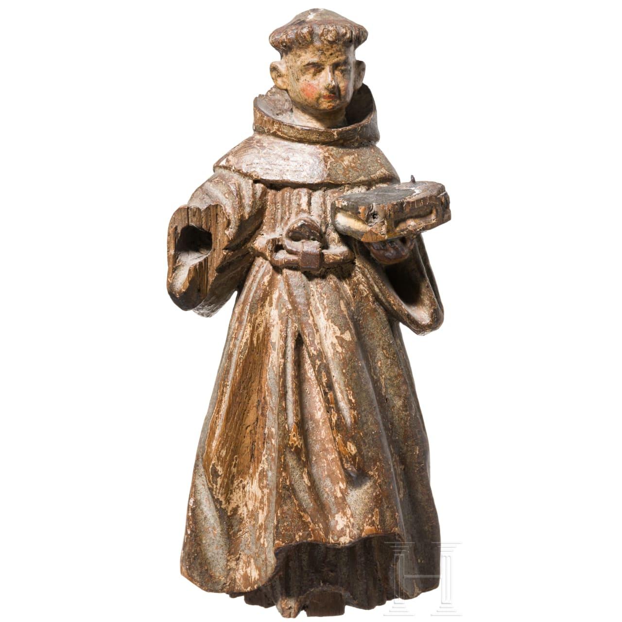 Heiligenfigur, Rheinland, 16. Jhdt.