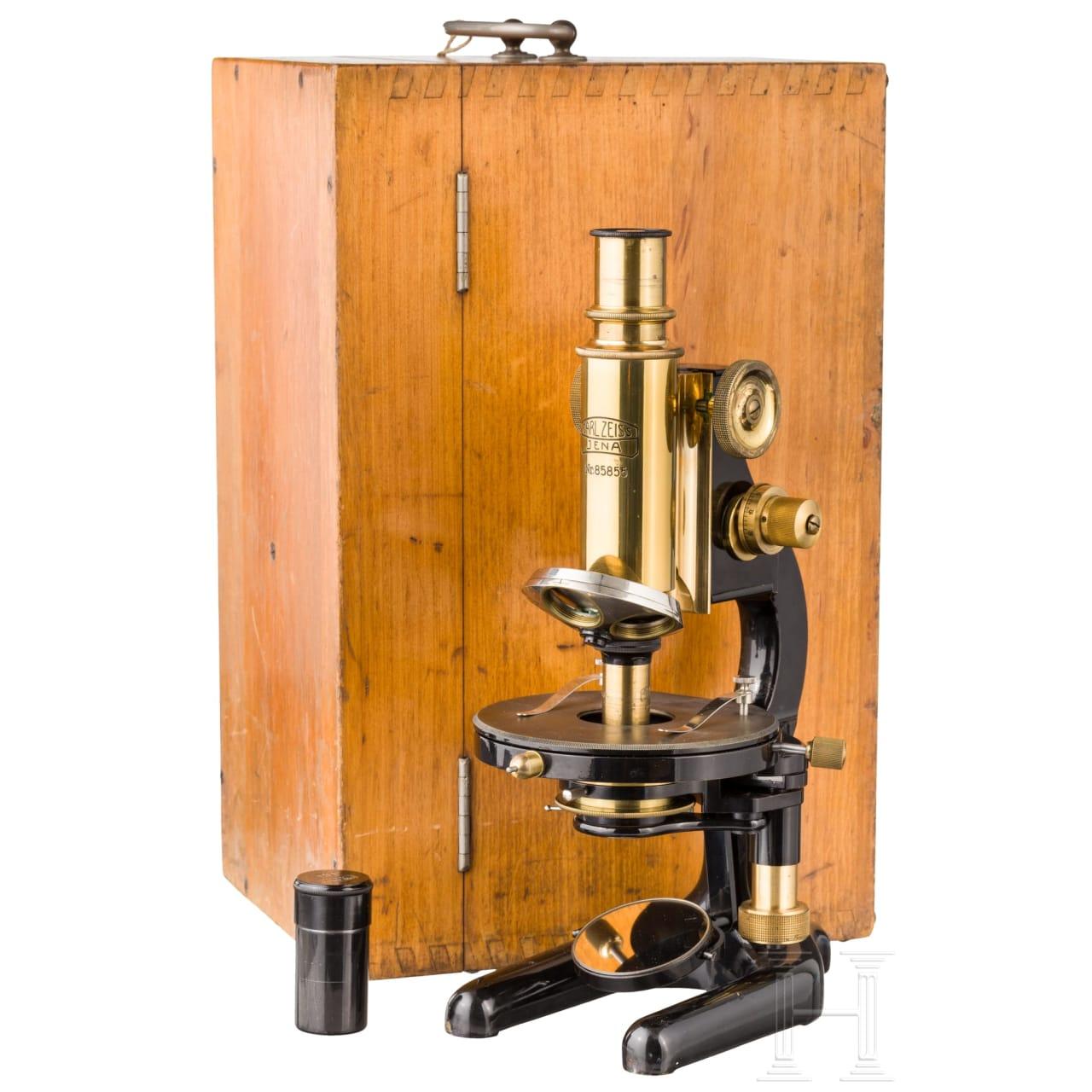 Mikroskop, Carl Zeiss, Jena, 20. Jhdt.
