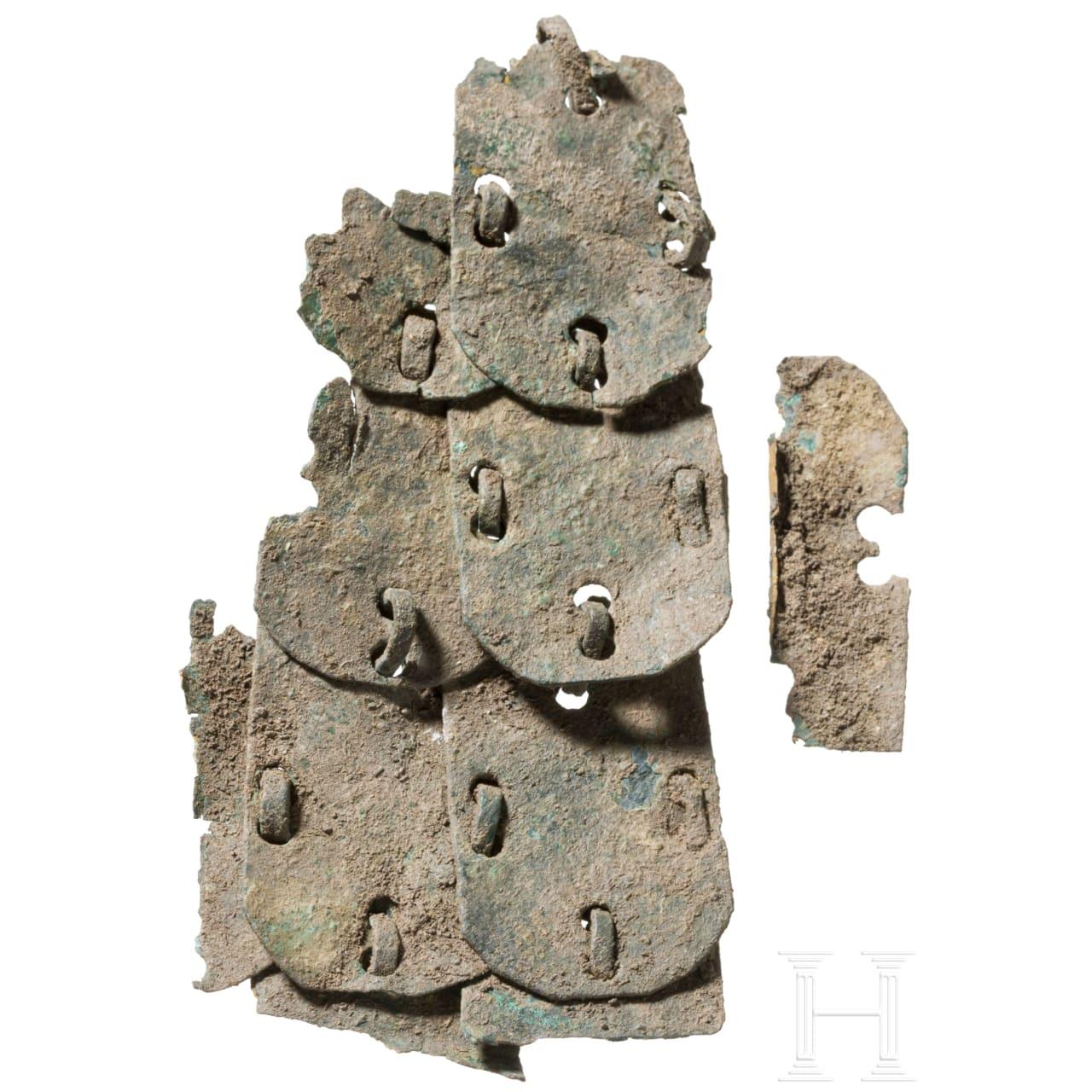 Segment eines Schuppenpanzers, römisch, 2. - 3. Jhdt.