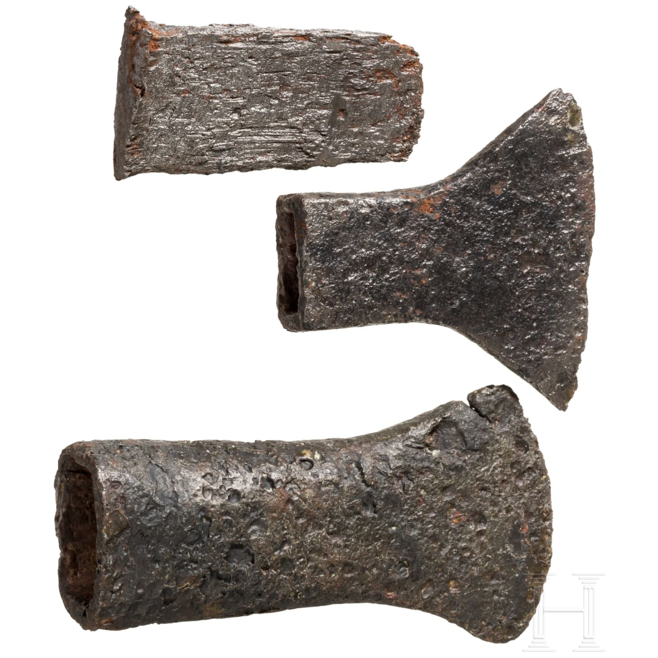 Three Celtic iron tools, 3rd – 1st century B.C.
