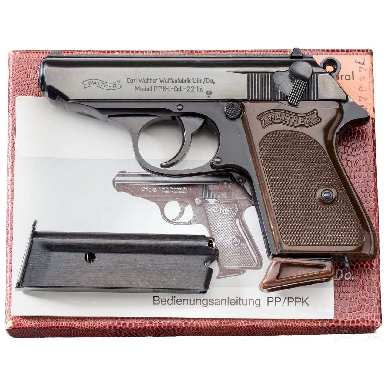 Walther PPK-L, Ulm, in box