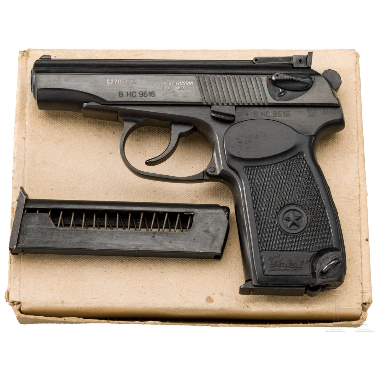 IMEZ IJ70-17A Makarov, 4mm M20 Umbau, in box