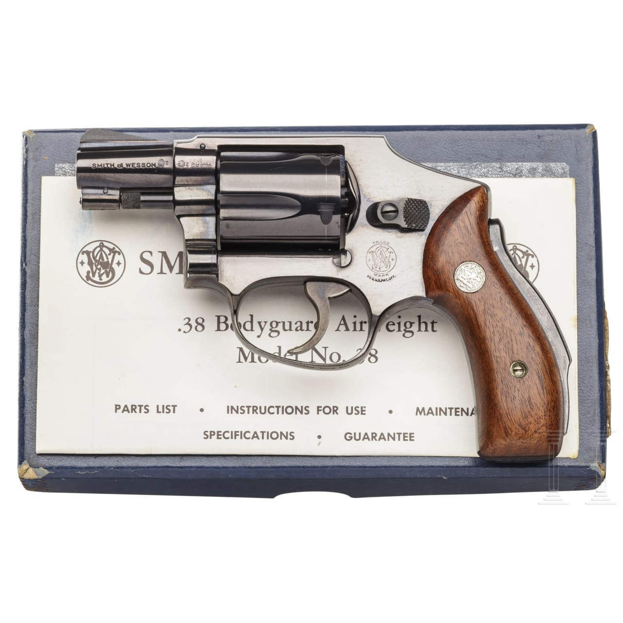 """Smith & Wesson Mod. 40, """"The Centennial"""", in box"""