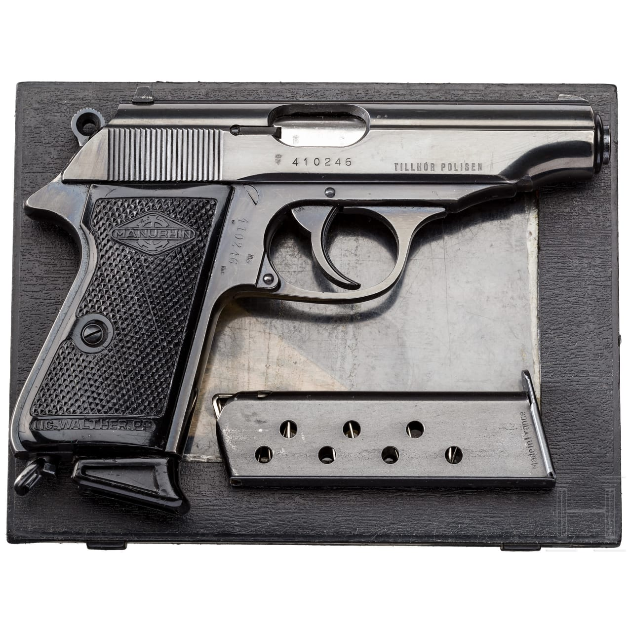 Walther-Manurhin PP, in Box, Polizei