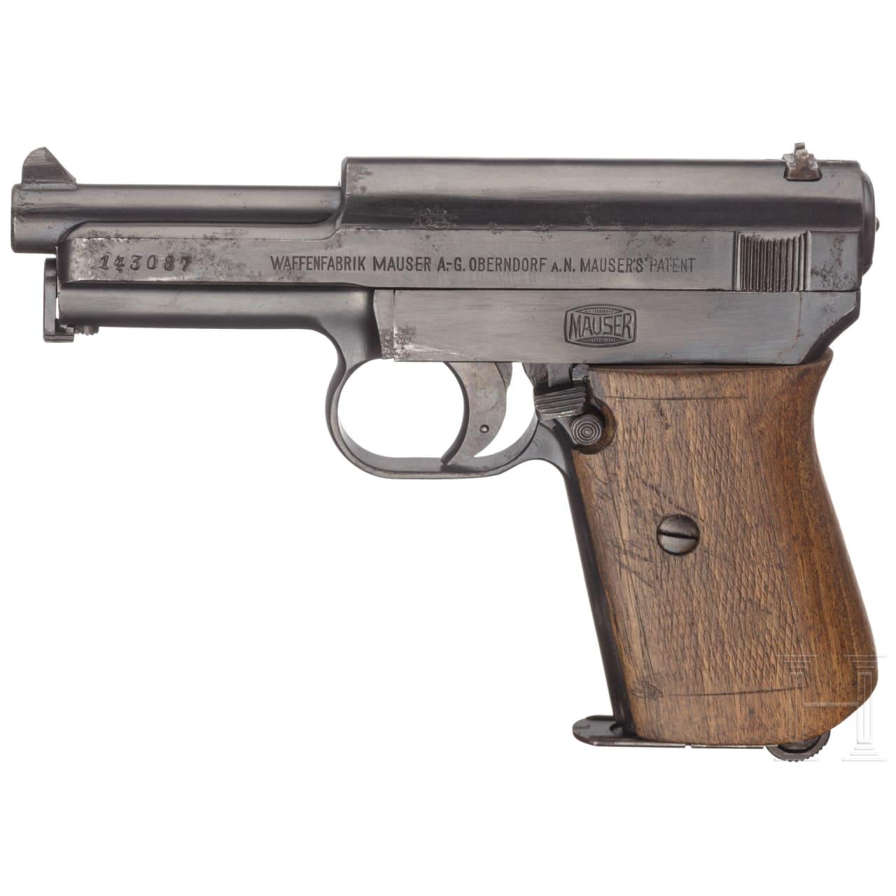 Mauser Mod. 1914, Militärkontrakt, mit Tasche