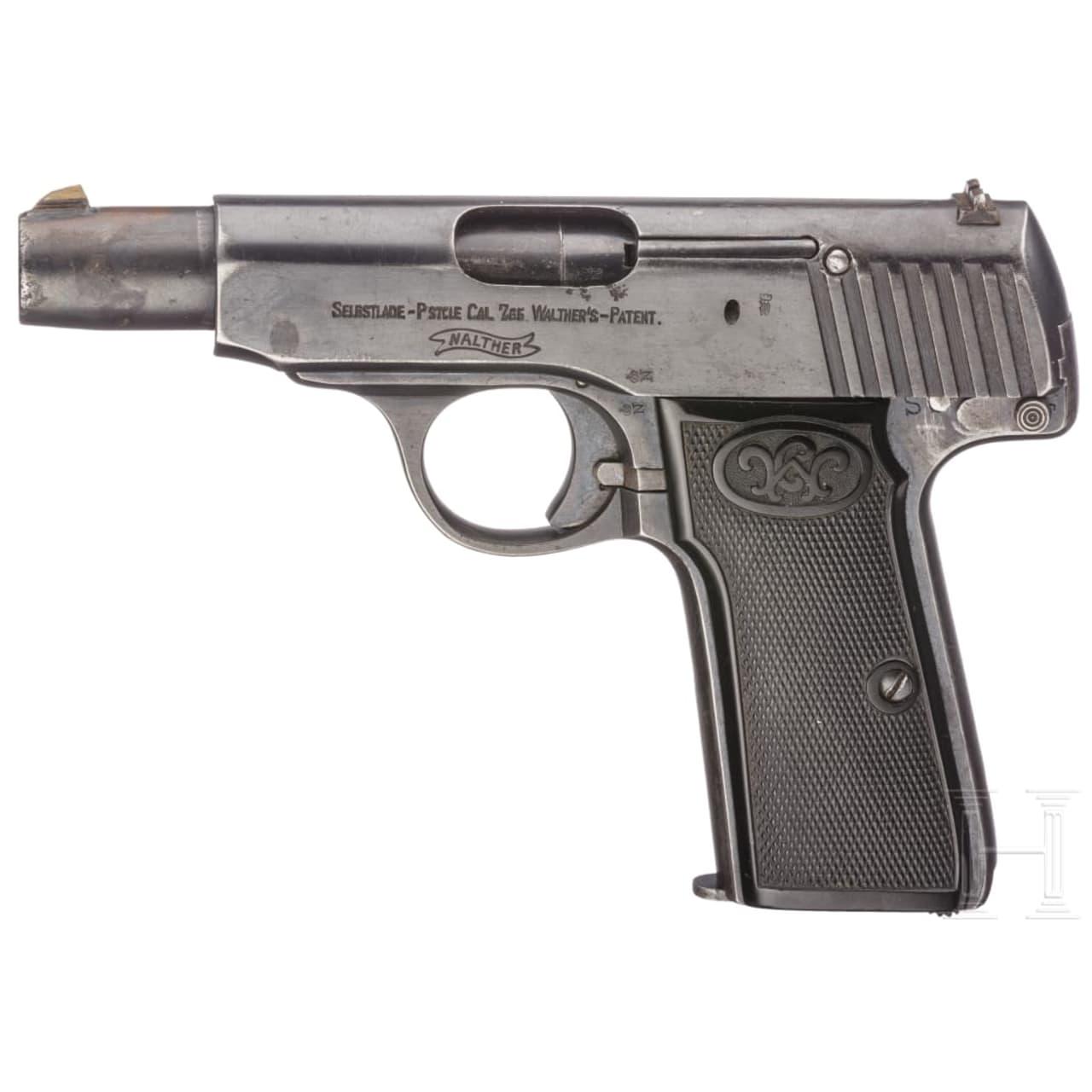 Walther Mod. 4, Militärkontrakt