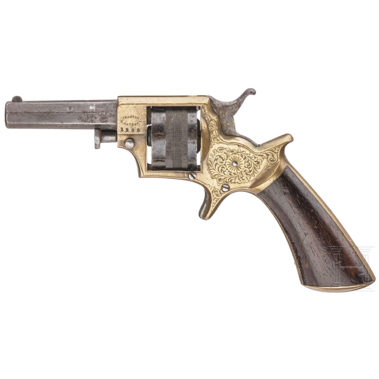 A revolver by Tranter, No 1, circa 1865