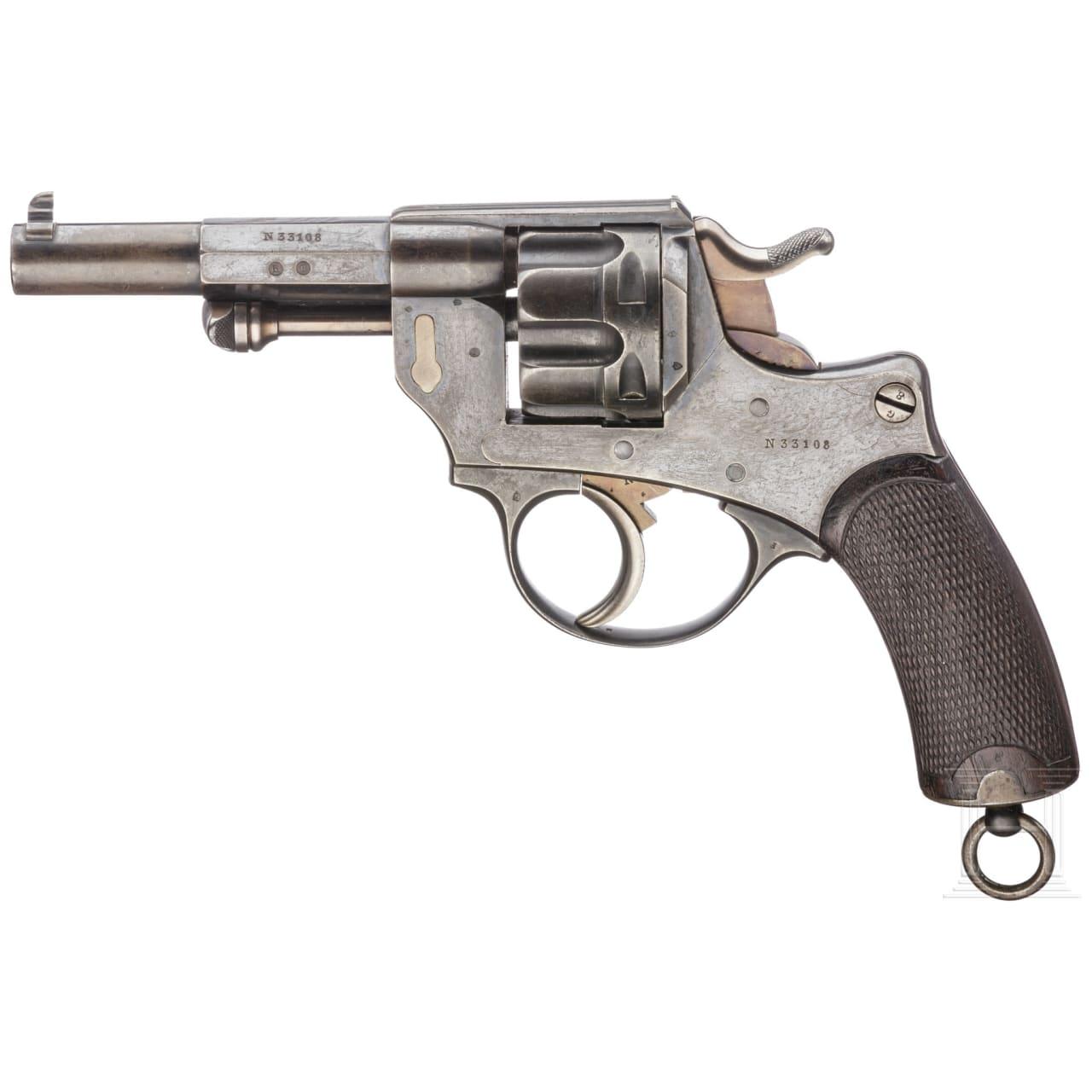 An officer's revolver Mod. 1874