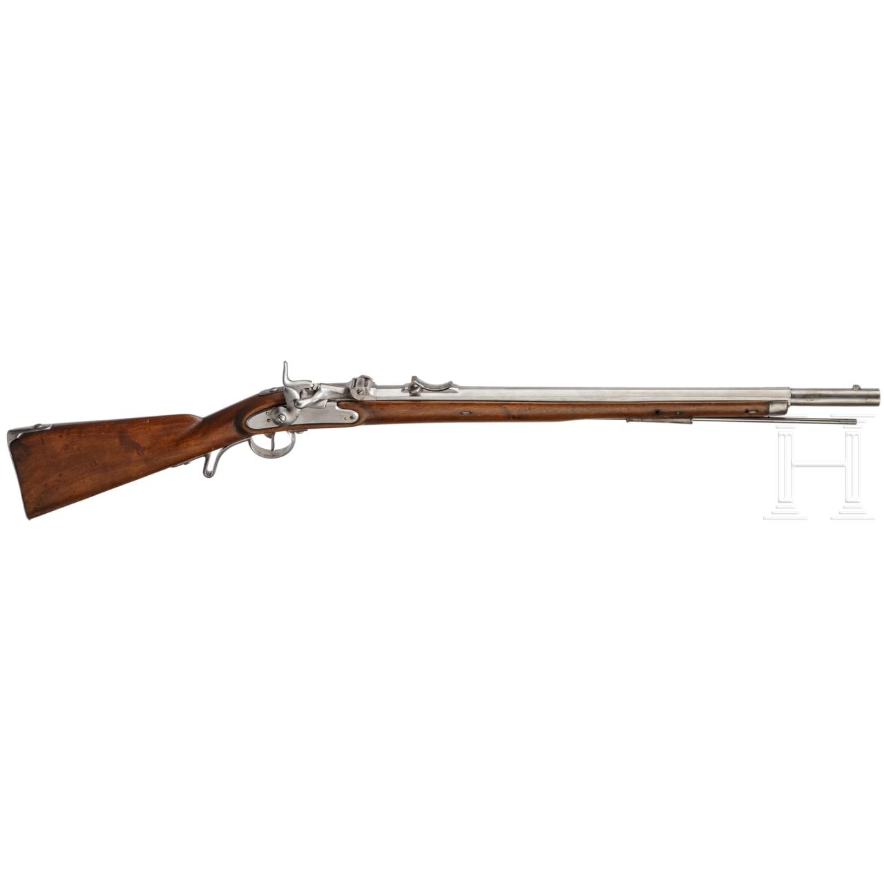 Jägerstutzen M1854/67, System Wänzel