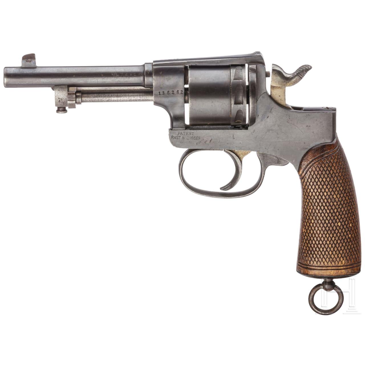 A revolver Rast & Gasser, Mod 1898, 1917