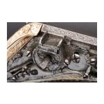 A deluxe wheellock puffer, lavishly inlaid in bone, Nuremberg, circa 1570
