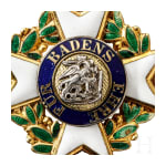 A Knight's Cross of the Military Order of Merit of Karl Friedrich, 1st half of the 19th century