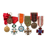 Awards from Belgium and France