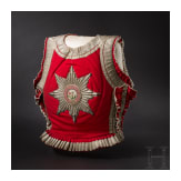A supravest for officers of the Garde du Corps, in the issue of circa 1860