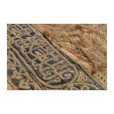 Bestickter Moscheebehang, osmanisch, 19. Jhdt.