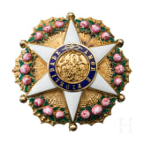 Ordem Imperial da Rosa - Breast Star of the Officers in case