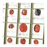 A large collection of seals, collected by the Herfurth family, circa 1915