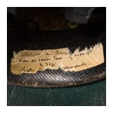 A shako for officers of the Reichsgendarmerie, circa 1900