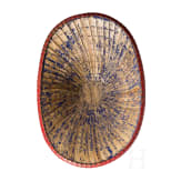 A Japanese pith helmet, Meiji period