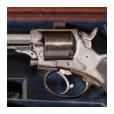 A revolver by John Blissett & Son, London, Tranter Patent
