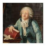A portrait of Honoré Gabriel de Riqueti, Marquis de Mirabeau, circa 1790