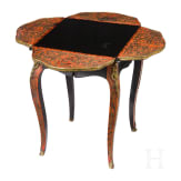 A French Boulle folding table, 2nd half of the 19th century