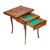 A German gaming table in 18th century style, 20th century