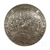 Rundschild aus Eisenguss, Historismus, um 1880
