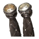 A pair of cuttlery for a Scottish dirk, circa 1900