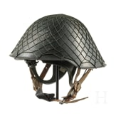 A steel helmet M 56 with special interior for night vision NSG 66