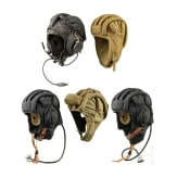 Five bonnets for crews of armoured vehicles, 1970s - 1990s