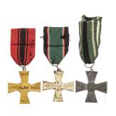 Three awards, 20th century