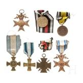 Gruppe bayerische Auszeichnungen und Militärpass Feldflieger