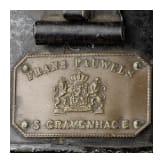 Zweispitz für Beamte im originalen Hutkoffer, um 1900