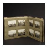 A photo album of a German aviation department in World War I near Verdun in France