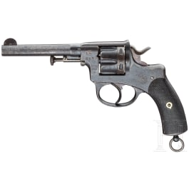 Offiziersrevolver Nagant Mod. 1878, geändert